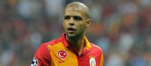 Felipe Melo, centrocampista del Galatasaray