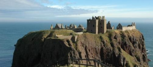 Imagen del Castillo de Dunnottar