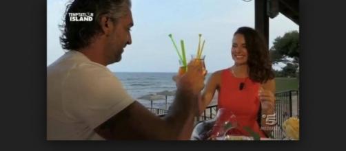 Mauro Doná e Marta Krevsun a Temptation Island