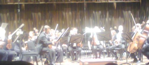 Parte de la Filarmónica de Helsinki en México