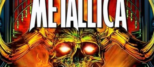 "Portada del comic biográfico ""Orbit: Metallica"""