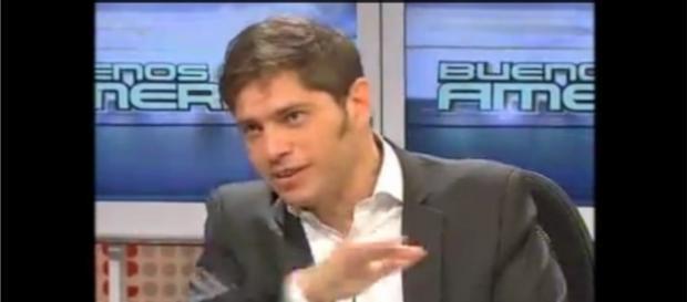 El ministro de Economía Axel Kicillof