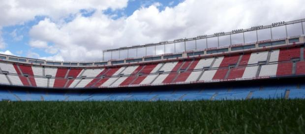 Imagen del Estadio Vicente Calderón