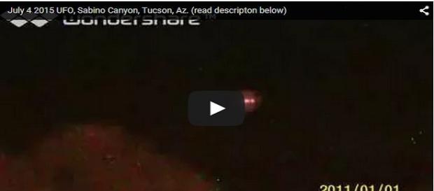 L'avvistamento UFO di Tucson (Tom Sanger/YouTube)