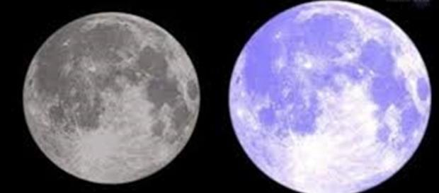 La segunda Luna Llena de Julio trae una Luna Azul