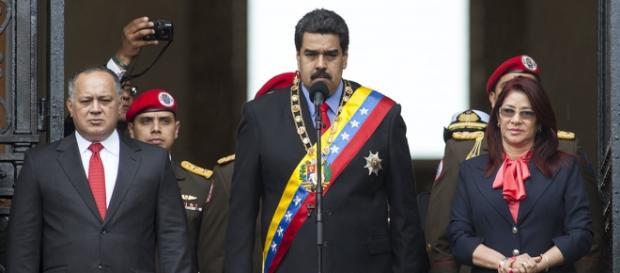 Maduro se mostró cerrado en rueda de prensa