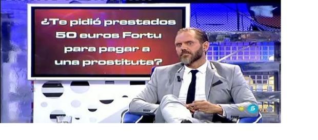 Nacho Vidal un animal televisivo en Sálvame Deluxe