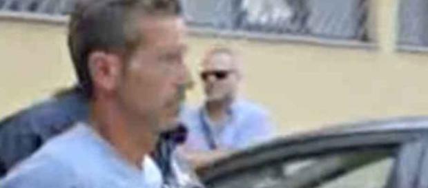 Qui vediamo l'arresto di Bossetti