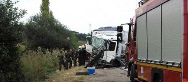 Un militar a murit aproape de Alba Iulia