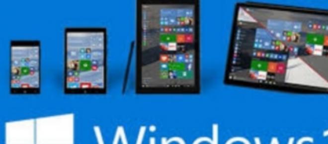 El 29 de julio sale al mercado Windows 10.