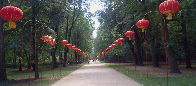 Festiwal Światła w stołecznych Łazienkach