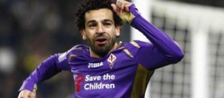 Mohamed Salah lascia la Fiorentina