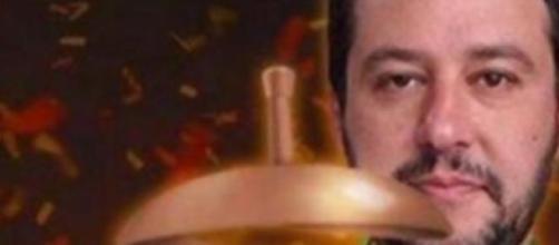 Salvini e il kebab una delle immagini ironiche