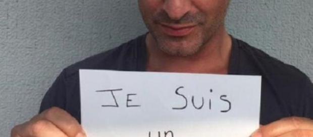 El actor Jean Dujardin apoya a Les Guignols.