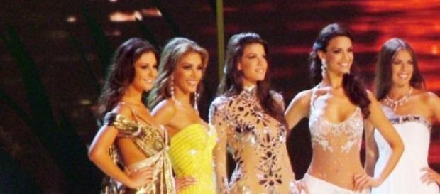 Finalistas de Miss Universo en el año 2008.