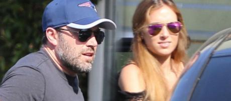 Ben Affleck y Christine juntos