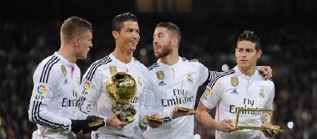 I quattro tenori del Real Madrid
