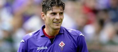 Mario Gomez, nuovo attaccante del Besiktas