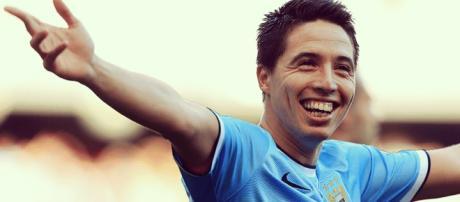 Semir Nasri, centrocampista del City