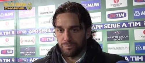 Luca Toni, centravanti dell'Hellas Verona