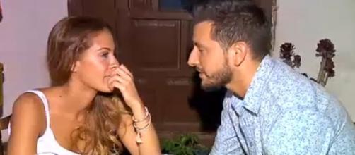 Manu y Susana disfrutando de una romántica cita