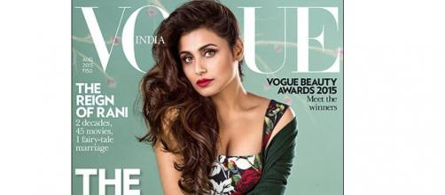 Rani on Vogue cover looks highly photoshopped