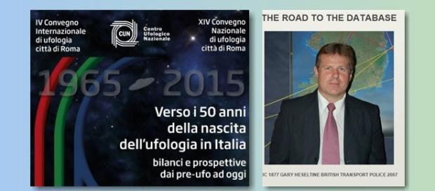 UFO in Italia: Gary Heseltine al vertice di Roma