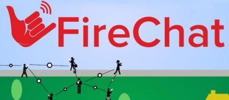 Fire Chat mensajería sin conexión a red