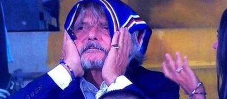 Il Presidente della Sampdoria Massimo Ferrero