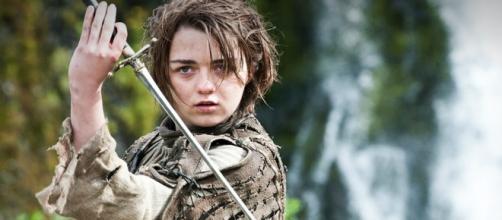 L'attrice Maisie Williams interpreta Arya Stark