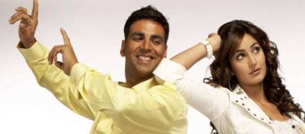 Akshay Kumar-Katrina Kaif in 'Namaste London'.