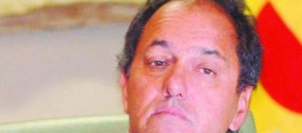 Daniel Scioli, candidato a presidente