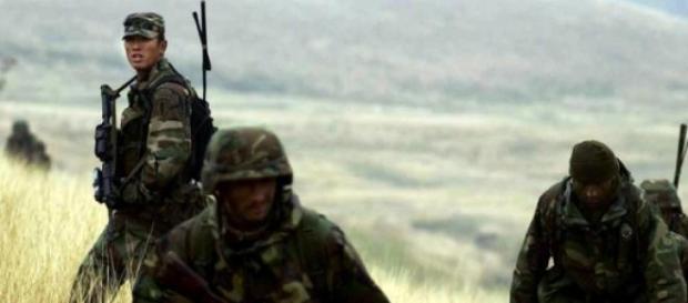 Forţe speciale americane într-un exerciţiu NATO