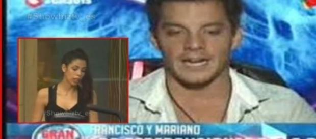 Francisco afirma que Maipi lo tracionó