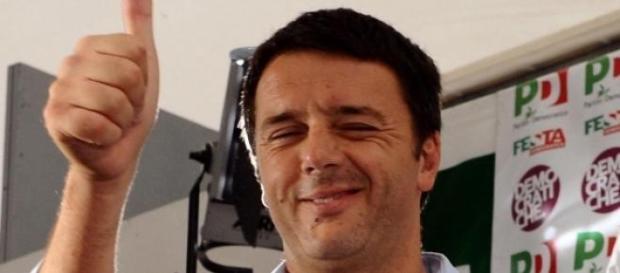 Il Presidente del Consiglio italiano Renzi
