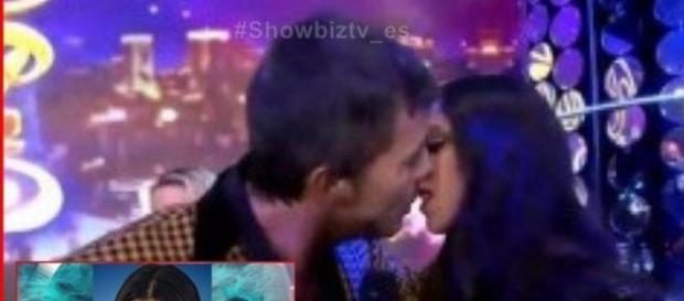 Maipi y el beso con Marcelo Tinelli