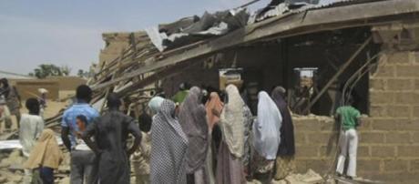 O ataque provocou a morte de cinco pessoas