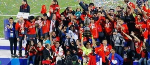 Chile Conquista a Copa América 2015