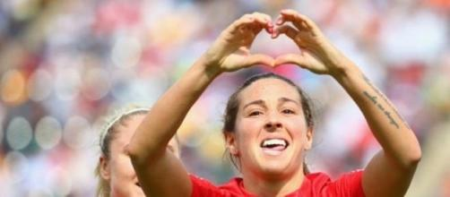 Fara Williams scored the winning penalty