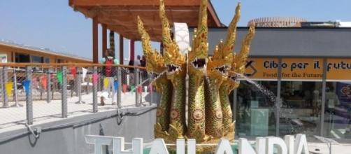 L'ingresso del Padiglione della Thailandia