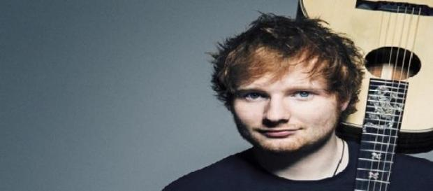 Cantor britânico, Ed Sheeran.