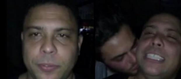 Vídeo íntimo de Ronaldo com outro homem