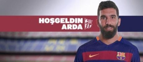 Arda Turan, nuovo giocatore del Barça