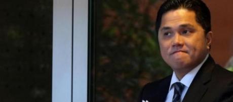 Il presidente dell'Inter, Tohir