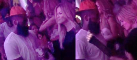 James Harden muito íntimo com Khloe Kardashian