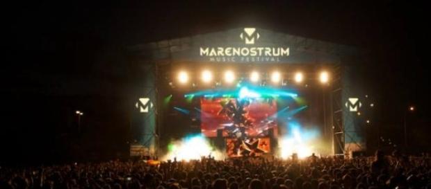 Escenario del marenostrum music festival