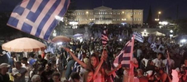 Grecia dijo 'no' al programa de rescate financiero