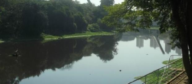 Rio Piracicaba em Piracicaba (SP)