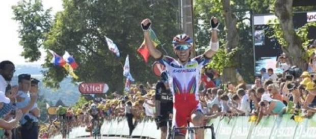 Rodriguez remporte l'étape de Huy, Froome en jaune