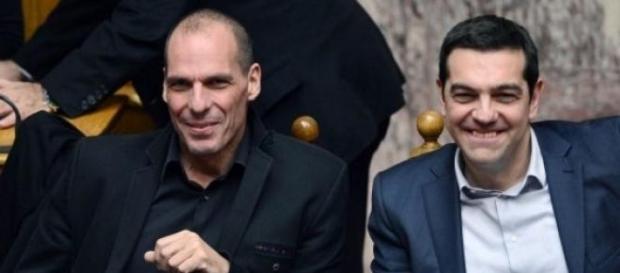 Yanis Varoufakis y Alexis Tsipras